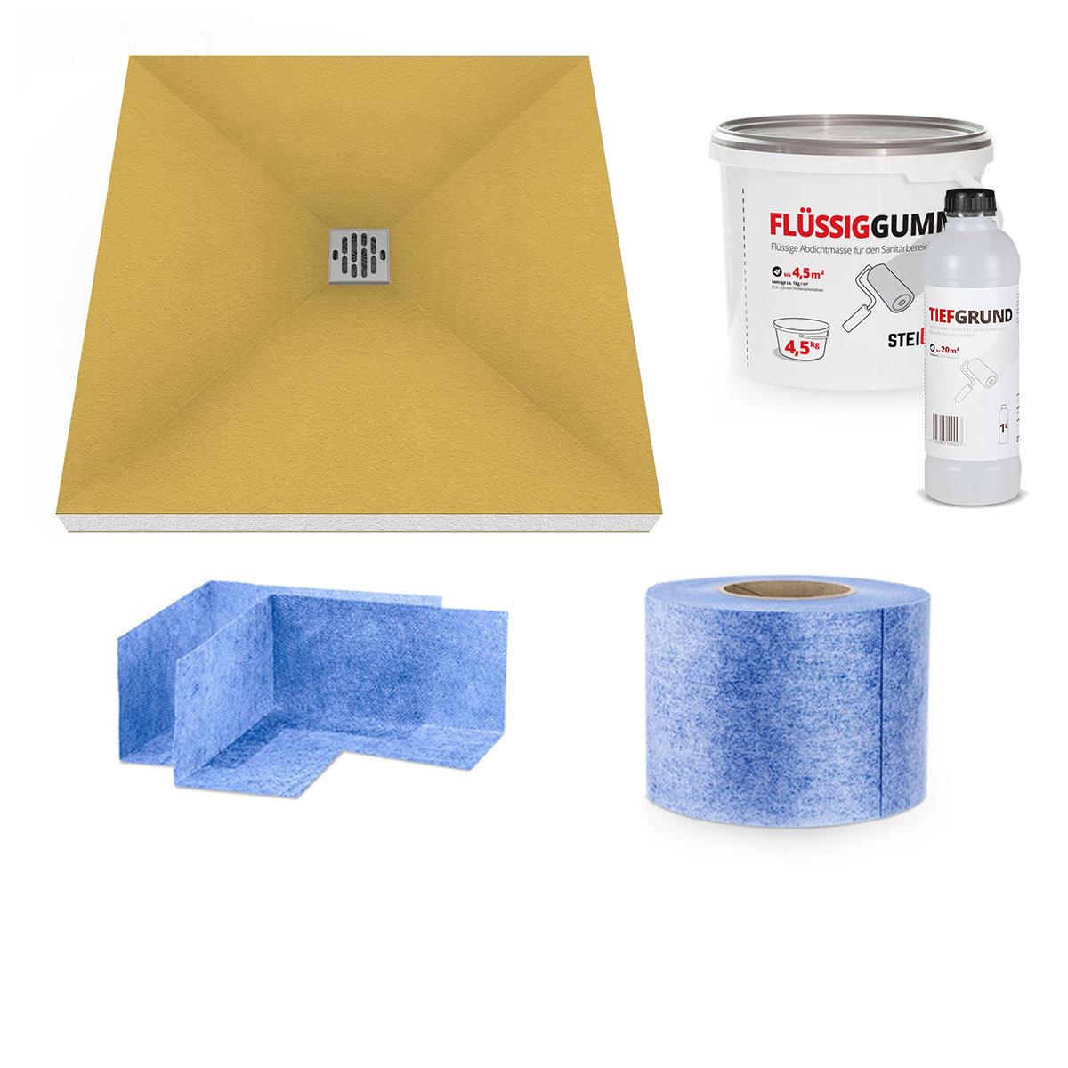 duschelement duschboard duschtasse duschwanne befliesbar. Black Bedroom Furniture Sets. Home Design Ideas
