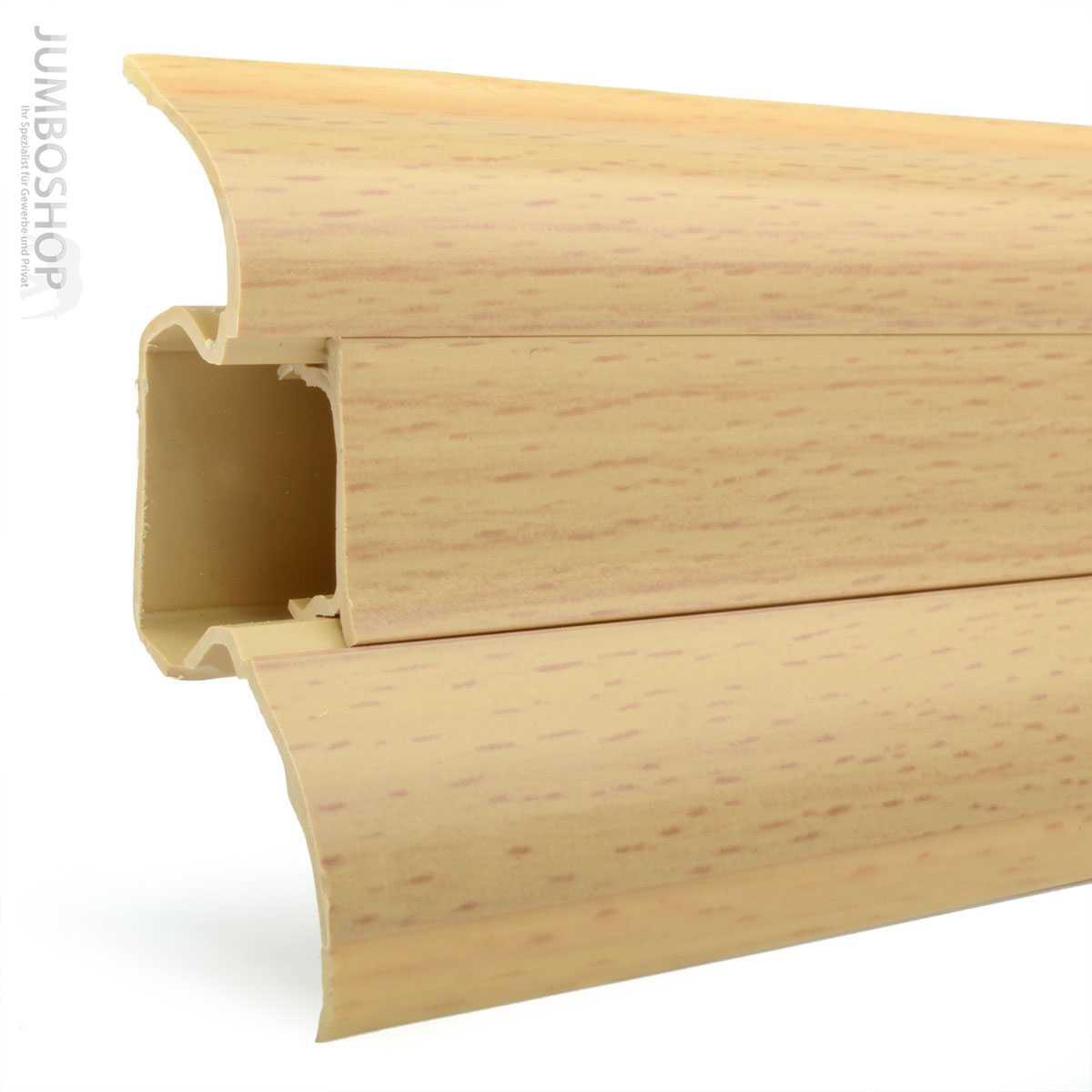 fu leiste mit kabelkanal kabelkanal sockelleisten eiche. Black Bedroom Furniture Sets. Home Design Ideas