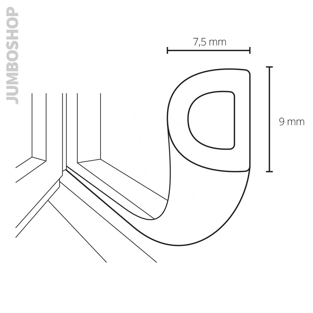 gummidichtung fensterdichtung t rdichtung selbstklebend gummi profil dichtung. Black Bedroom Furniture Sets. Home Design Ideas