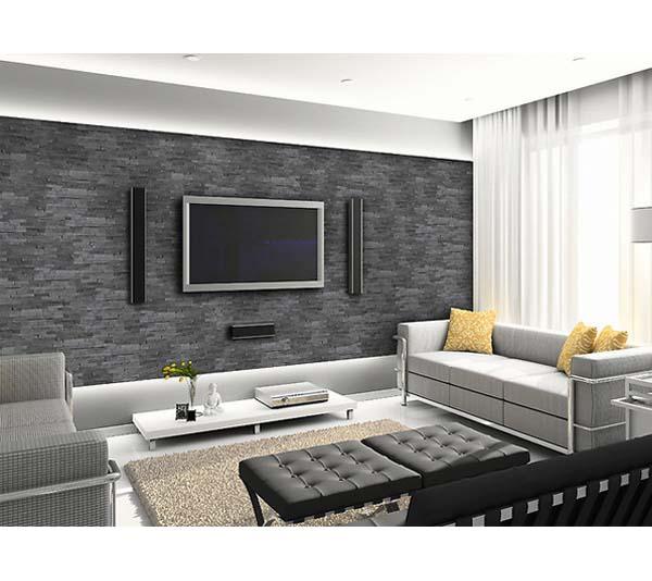 Neu Vorschlaege Wandgestaltung Wohnzimmer Mit Stein OP15