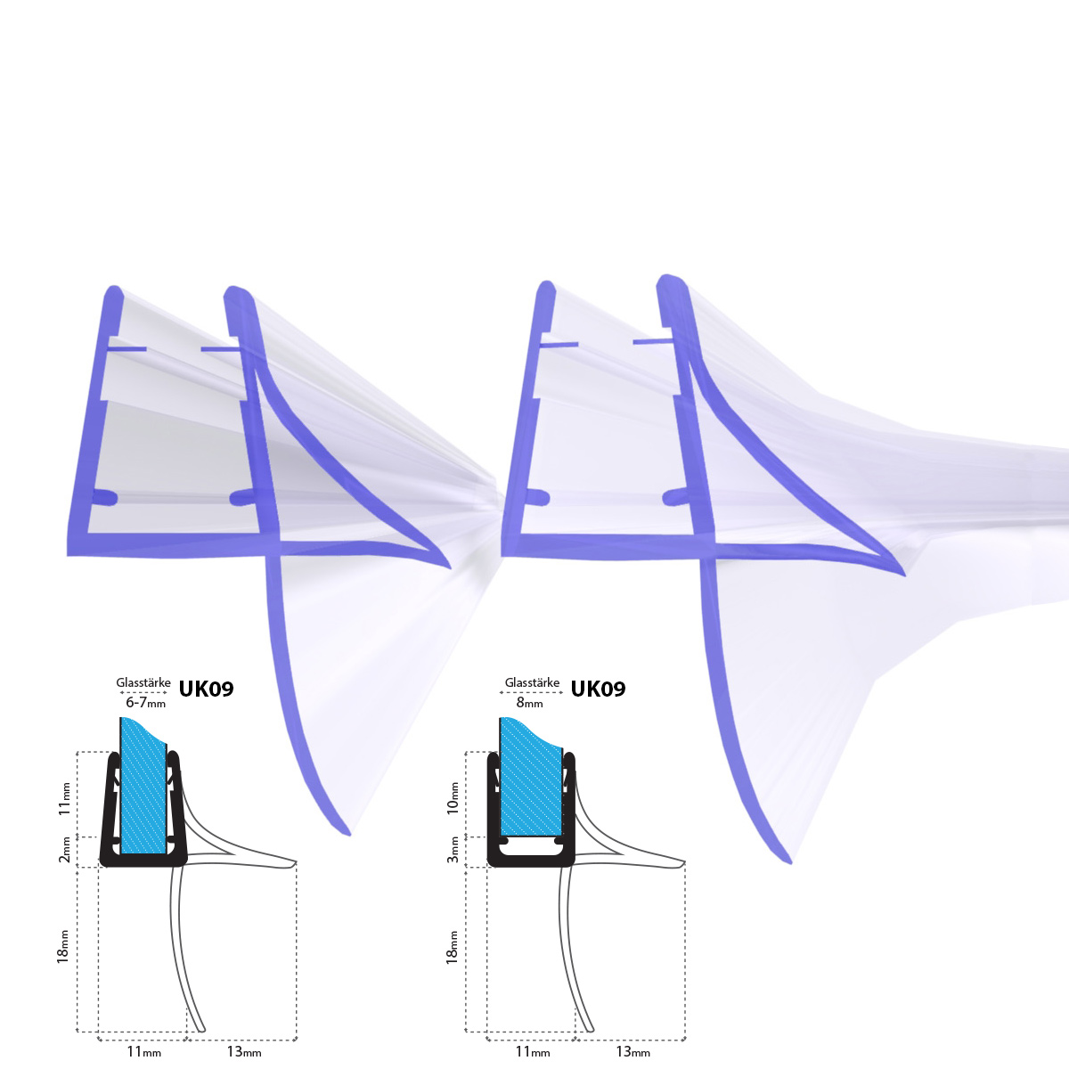 dichtung duschdichtung ersatzdichtung duscht r duschtasse wasserabweiser uk09 ebay. Black Bedroom Furniture Sets. Home Design Ideas