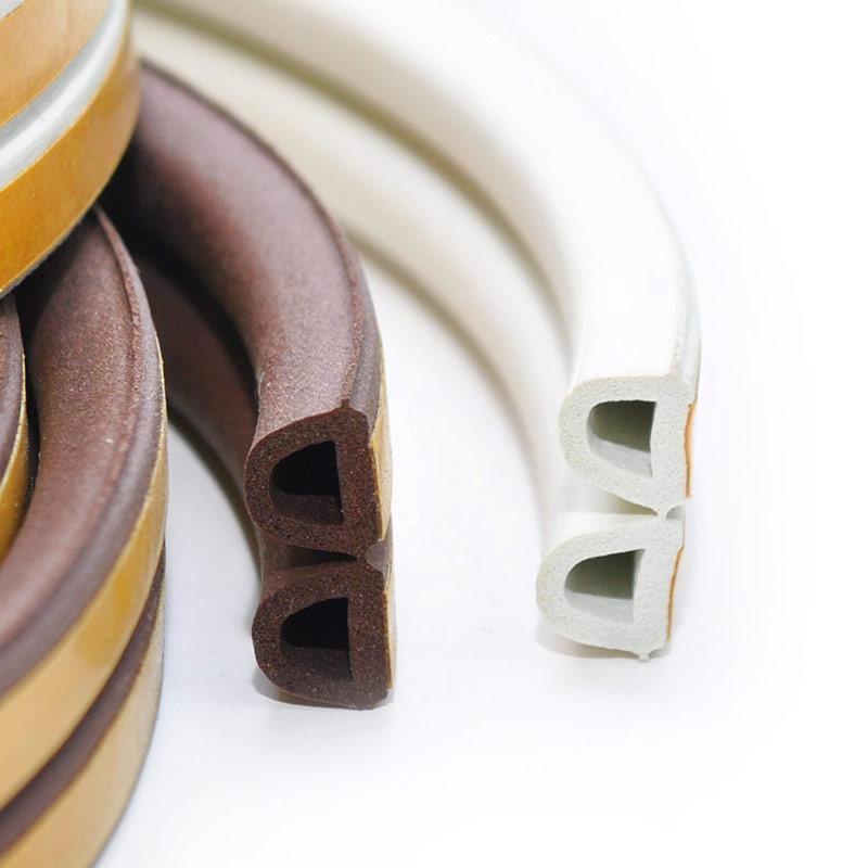 gummidichtung fensterdichtung t rdichtung selbstklebend gummi profil dichtung ebay. Black Bedroom Furniture Sets. Home Design Ideas