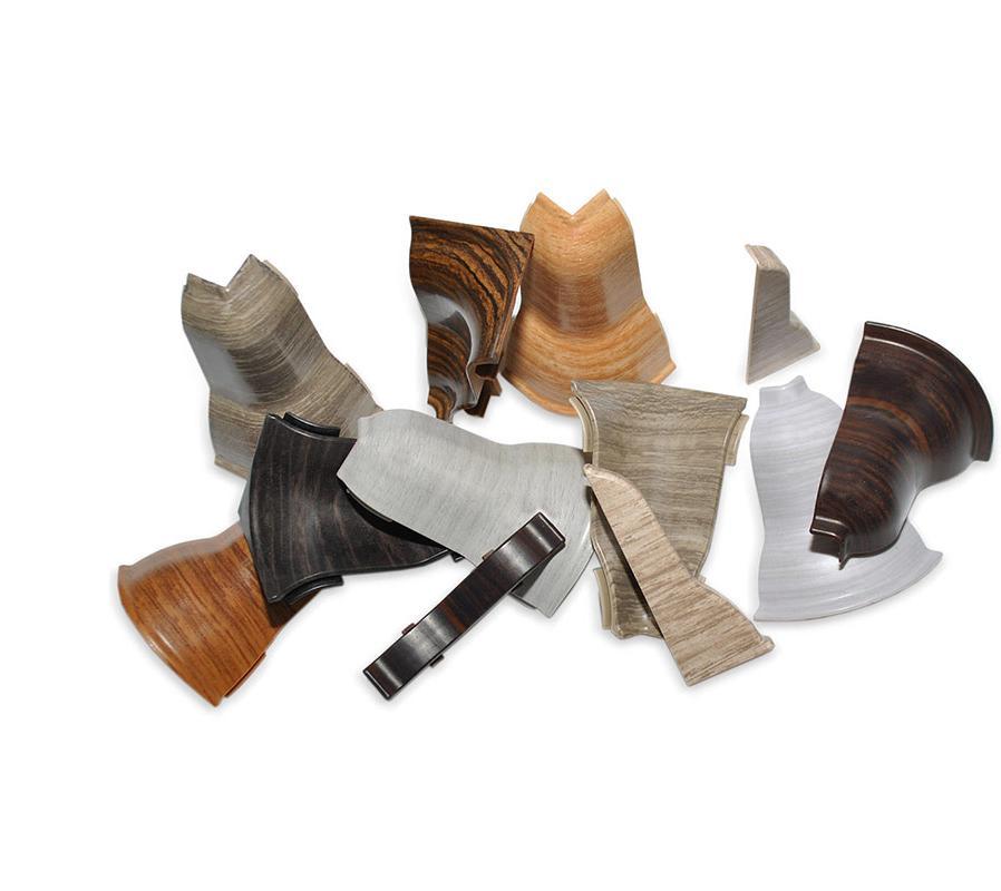 Zubehör für unsere PVC Sockelleisten