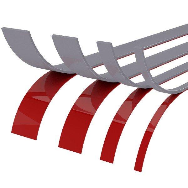 Doppelseitiges Acrylschaum Klebeband beidseitig GRAU Spiegelklebeband Doppelklebeband Acryl