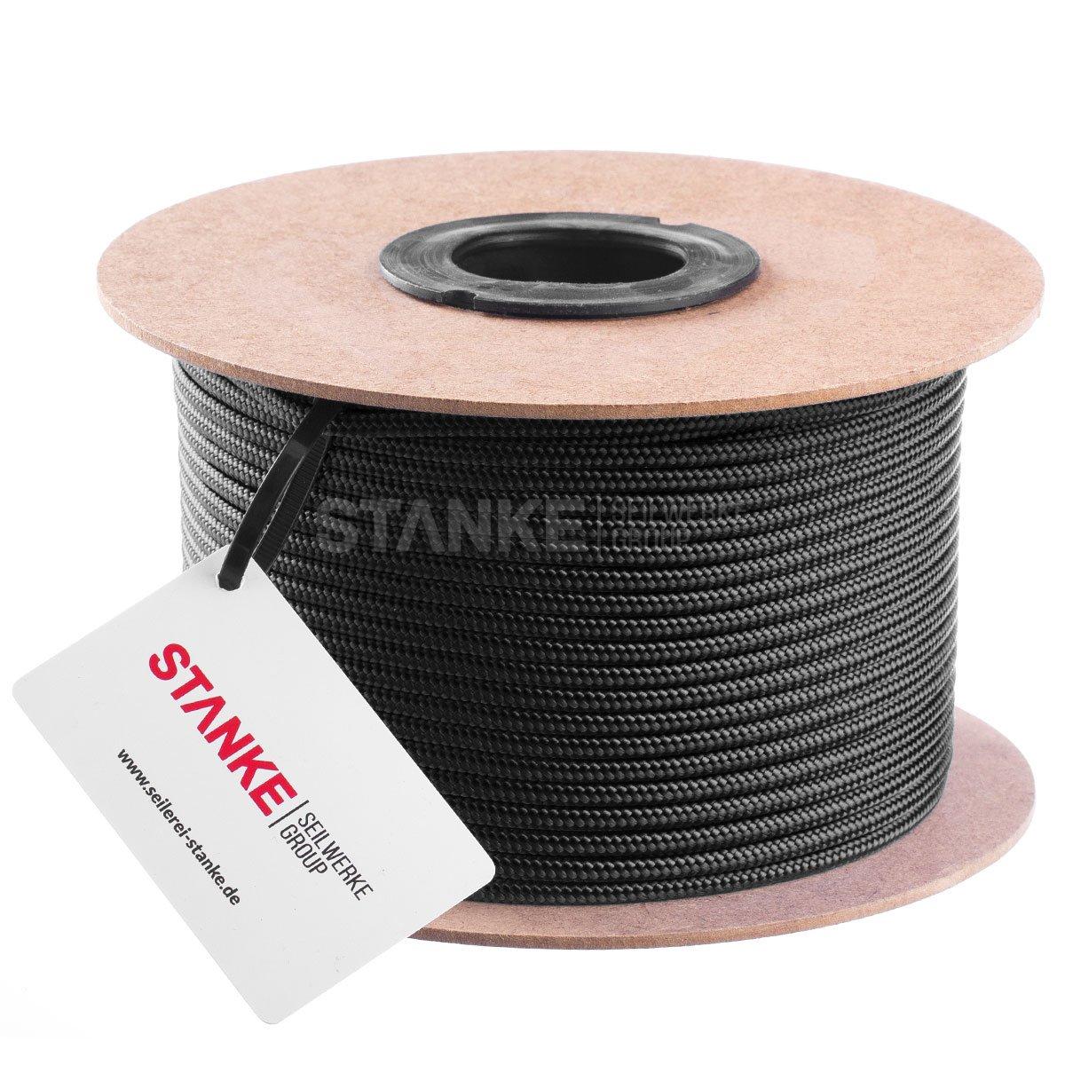 Polyester Rollen 12mm Schwarz Polypropylen Seil X 30 Meter Günstig Nylon