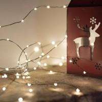 Vorschau: 20m LED Lichterkette für Weihnachtsbaum LEDs 400 Weihnachtsbaumbeleuchtung