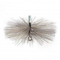 Vorschau: Kaminbesen 13 cm Schornsteinbesen aus Edelstahl M12