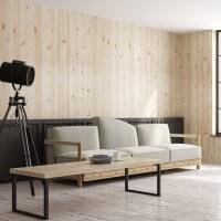 Vorschau: Design Tischkufen aus Vierkantprofilen 80x20 mm, Tischgestell, Tischbeine, 1 Stück, HLT-01-C