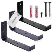 Vorschau: Stabile Regalhalterung aus Metall, DIY-Wandregal HLR-J