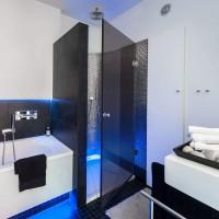 Vorschau: Duschdichtung UK03S Duschtürdichtung Duschkabinendichtung Schwarz