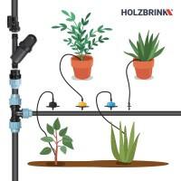 Vorschau: Bewässerungssystem Micro-Drip-System Tropfbewässerung Bewässerungsset 1
