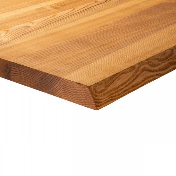 Holzregal mit Baumkante inkl. Regalwinkel