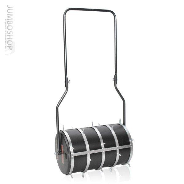 Gartenwalze 50cm Anhänge Walze Rasenwalze mit STACHELAUFSATZ