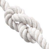 Vorschau: Baumwollseil 40mm Baumwollkordel Baumwollschnur