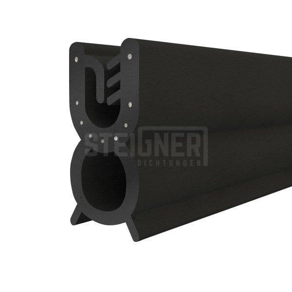 1m Gummidichtung T-32 Kantenschutzprofil inkl. Stahleinlage