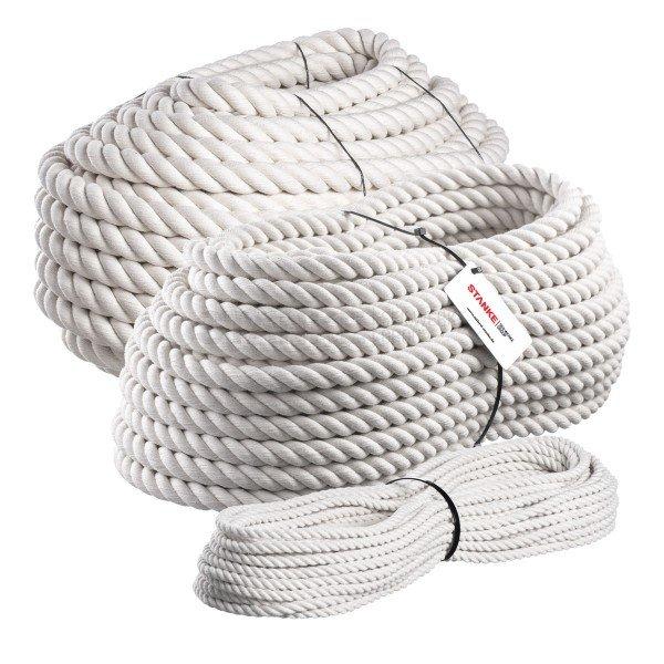 Baumwollseil 40mm Baumwollkordel Baumwollschnur