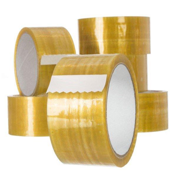 Packband Paketklebeband EXTRA Abklebeband Transparent 48mm x 55m