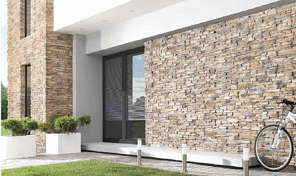emejing steinverkleidung wand aussen ideas. Black Bedroom Furniture Sets. Home Design Ideas
