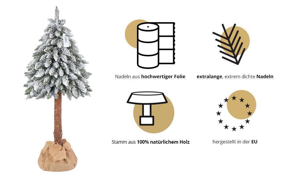 fichte-naturstamm-schneeflocken-vorteile-fairytrees