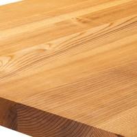 Vorschau: Wandregal ohne Montageset aus Holz mit gerader Kante