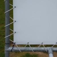 Vorschau: Gummiseil mit Pressklemmen zur Befestigung von Planen, Gepäck oder Balkonblenden