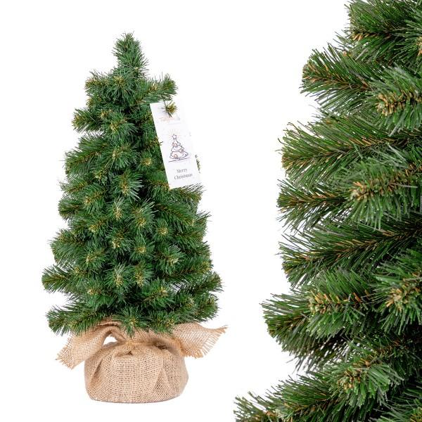 Künstlicher Weihnachtsbaum klein, Nordmanntanne Mini PREMIUM