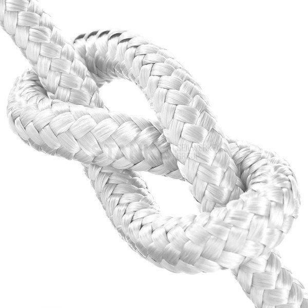 12mm POLYPROPYLEN SEIL PP Seil Polypropylenseil WEISS