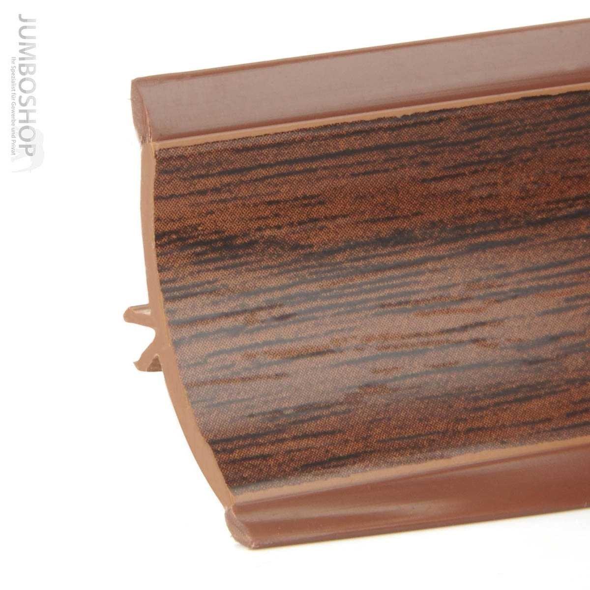 abschlussleiste küche arbeitsplatte küchenleiste - nuss dunkel