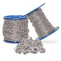 Vorschau: 2,5mm Knotenkette Dekokette Zierkette Gartenkette