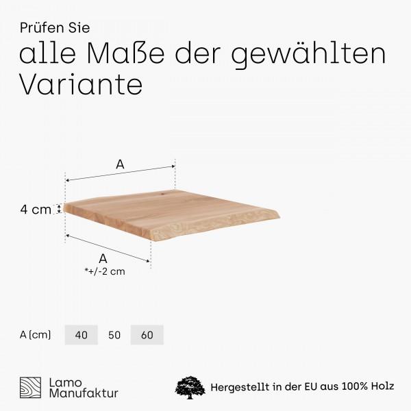 Tischplatte für Couchtisch, Schreibtisch, Esstisch, Hocker, Küchenarbeitsplatte