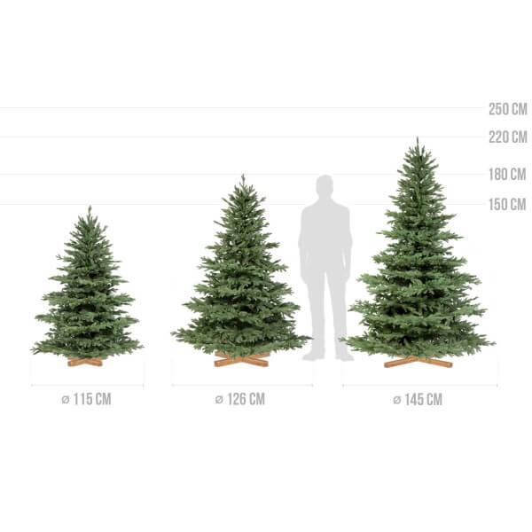 Künstlicher Spritzguss Weihnachtsbaum ALPENTANNE PREMIUM
