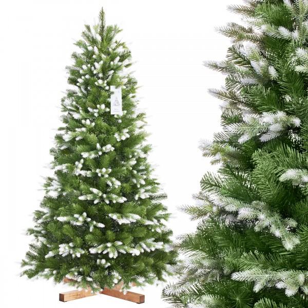 Künstlicher Weihnachtsbaum NORDMANNTANNE Edel Weiß