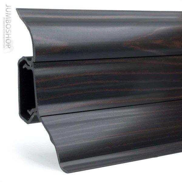 HOLZBRINK Linkes Endst/ück passend zum Dekor Ihrer Sockelleisten LP52 413 Mosaik Hell 52mm x 28mm
