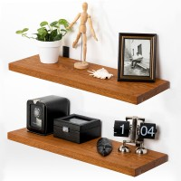 Vorschau: Holzregal mit Baumkante inkl. Regalwinkel