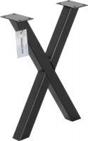 Vorschau: X-Tischbein aus Vierkantprofilen 40x40 mm, Tischkufen X Gestell Industriedesign, 1 Stück, HLT-03-F