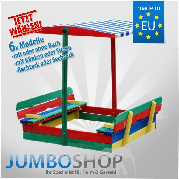 sandkasten jumbo shop. Black Bedroom Furniture Sets. Home Design Ideas
