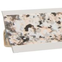 Vorschau: Küchenleiste 23x23mm Abschlussleiste Küche Arbeitsplatte - 631 Granit