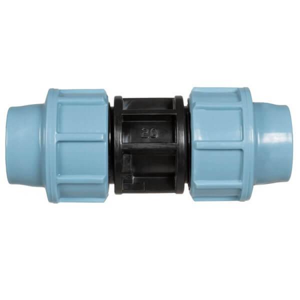 Verbindungsstück 3/4 x 3/4 Zoll 20 mm Rohrverbinder für Rohrverlängerungen des Verlegerohrs