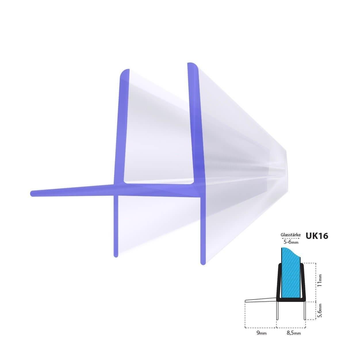Duschdichtung Uk16 Duschturdichtung Duschkabinendichtung Fur 5mm