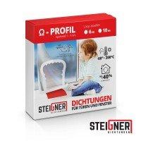 Vorschau: Silikondichtung Omegadichtung SFD01 OMEGA-Profil Dichtung Fensterdichtung selbstklebend
