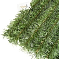 """Vorschau: Zaunblende Hellgrün """"GreenFences"""" Balkonblende für 180cm hohen Zaun / Balkon Sichtschutz Pflanzen"""