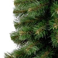 Vorschau: Künstlicher Weihnachtsbaum Premium, Mini Weihnachtsbaum Fichte mit Stamm Naturstamm