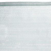 Vorschau: Schattiernetz inkl. Befestigungsmaterial, Dunkelgrün, Zaunblende, Windschutznetz HZB-01