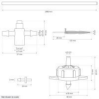 Vorschau: Bewässerungssystem Micro-Drip-System Tropfbewässerung Bewässerungsset 2