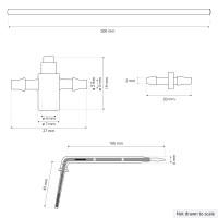 Vorschau: Bewässerungssystem Micro-Drip-System Tropfbewässerung Bewässerungsset 8