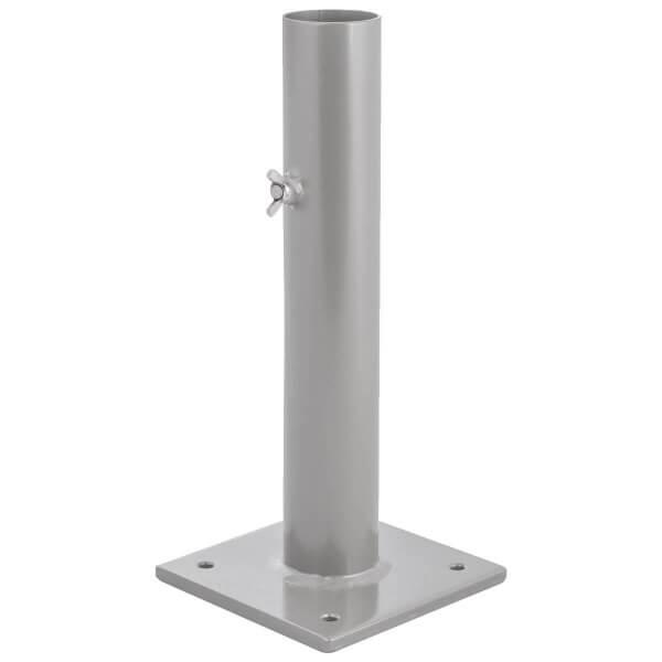 Sonnenschirmständer für Bodenhülse Innendurchmesser 55 mm Perldunkelgrau