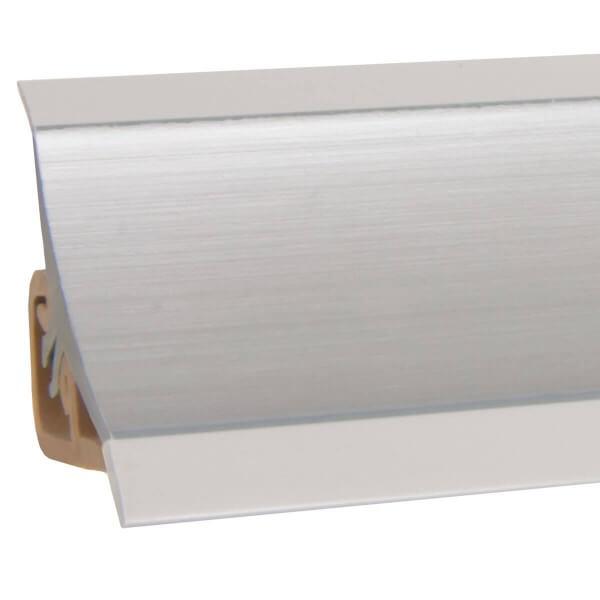 Küchenleiste 23x23mm Abschlussleiste Küche Arbeitsplatte - 610! Alu Silber