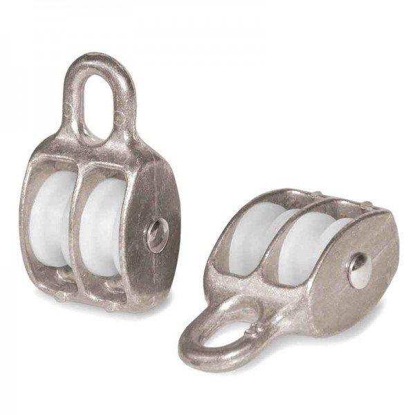 Doppelseilrolle 15mm Seilrolle doppelt