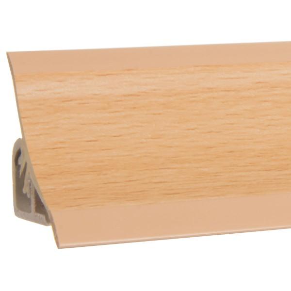 Küchenleiste 23x23mm Abschlussleiste Küche Arbeitsplatte - 641 Buche