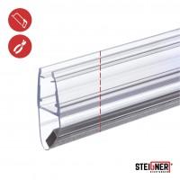 Vorschau: Duschdichtung Magnet Magnetduschdichtung SET 200cm UKM03 180° Grad Dichtprofil Dusche Ersatzdichtung